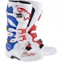 Tech 7 White/Red/Blue