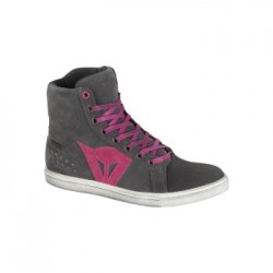 Street Biker D-WP Lady Antracite/Fuxia