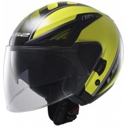 OF586 Atom Black Hi-Vis Yellow