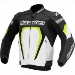 Motegi Jacket Black/White/Yellow