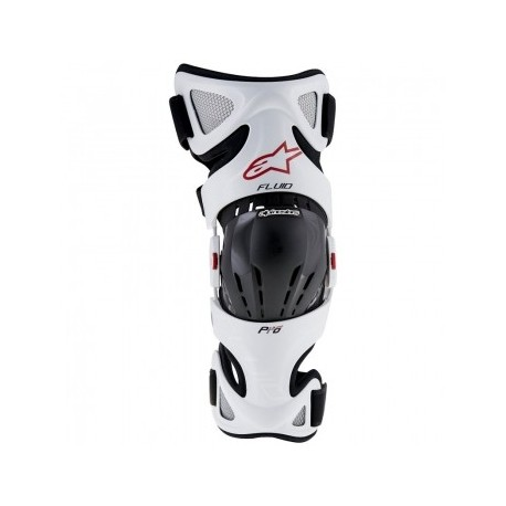 Fluid Pro Knee Brace Set White/Black