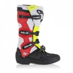 Tech 5 Black/White/Red/Yellow
