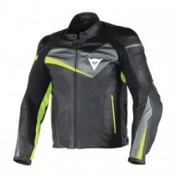 Veloster Leather Black/Antracite/Fluo Yellow