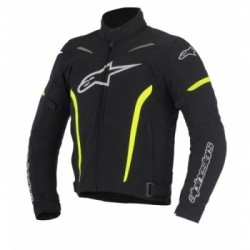 Rox Textile Black Yellow Fluo