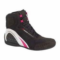 Motorshoe Lady Air Black/White/Fuchsia