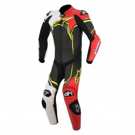 GP PLUS SUIT 1PC Black White Red Yellow Fluo