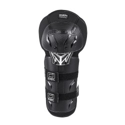 Pro III Carbon Lock Knee Guard Black