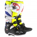 Tech 7 White/Yellow Fluo/Blue