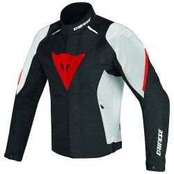 Laguna Seca D1 D-Dry Jacket Black/White/Red