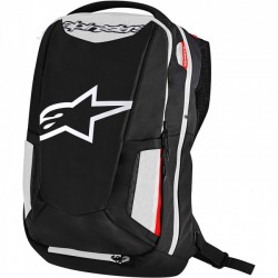 City Hunter Backpack Black/White/Red