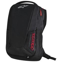 City Hunter Backpack Black/red