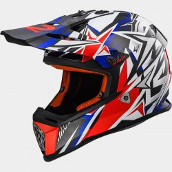 MX437 Fast Mini Strong White/Red/Blue