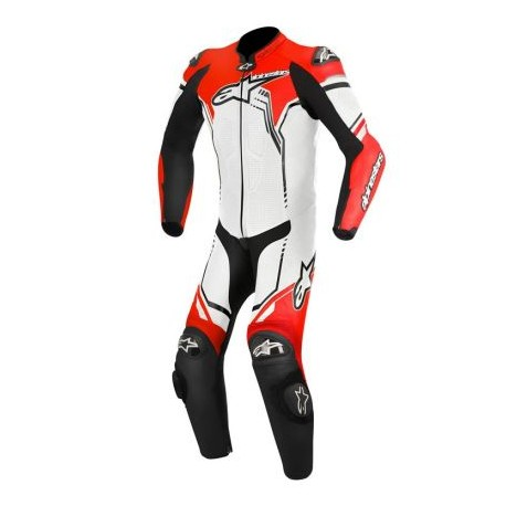 GP PLUS SUIT White/Black/Red Fluo