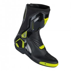 Course D1 Pro Boots Black/yellow Fluo