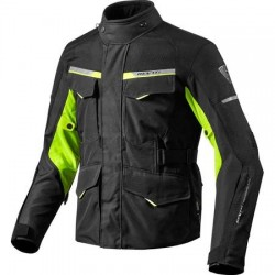 Outback 2 Jacket Black/Yellow Neon