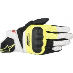 SP-5 Gloves Black/Yellow Fluo/White