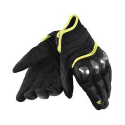 X-Run Gloves Black/Yellow Fluo