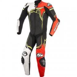 GP PLUS V2 Suit 1Pc Black/White/Red Fluo