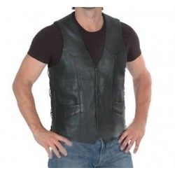 Gilet Leather Custom