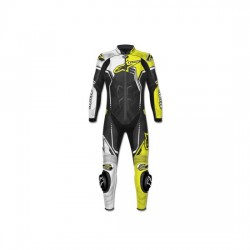 GP PLUS V2 SUIT Leather Black/Yellow