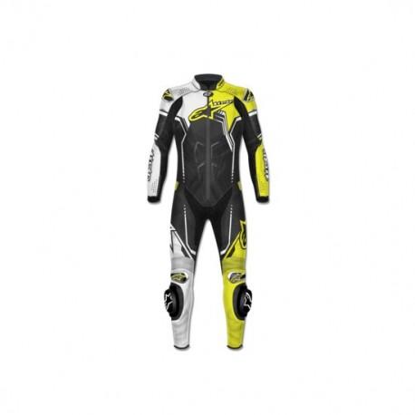 GP PLUS V2 SUIT Leather Black/Yellow
