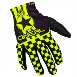 Matrix Wingman Youth Gloves Blçack/Neon Yellow