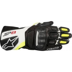 Sp-8 V2 Gloves Black White Yellow Fluo