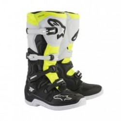 Tech 5 Black White Yellow Fluo