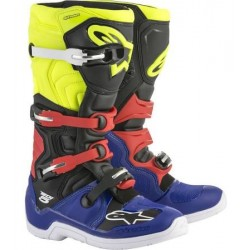 Tech 5 Blu Black Yellow Fluo Red