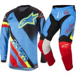 Youth Racer Supermatic Jersey Aqua Black Red