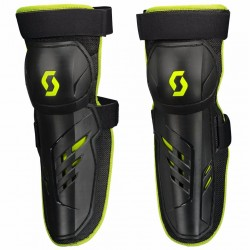 Knee Guard Pursuit Black Green