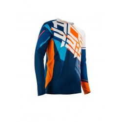 MX Stormchaser Jersey Orange Blue