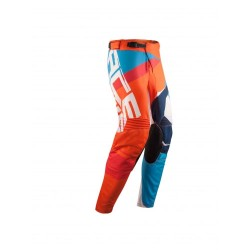 MX Stormchaser Pants Orange Blue