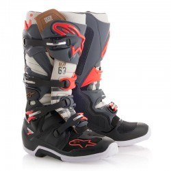 Tech 7 C. Gray Black Red Fluo