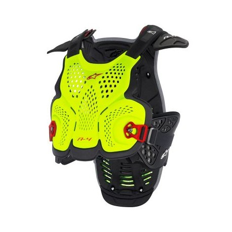 A-1 Roost Guard Yellow Fluo Red
