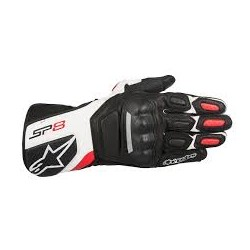 Sp-8 V2 Gloves Black White Red