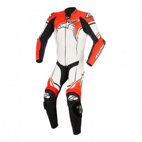 GP Plus V2 Leather Suit White Black Red