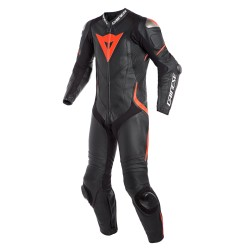 Laguna Seca 4 Suit Black Fluo Red
