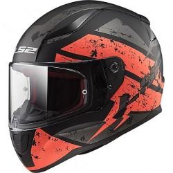FF353 Rapid Deadbolt Matt Black Orange