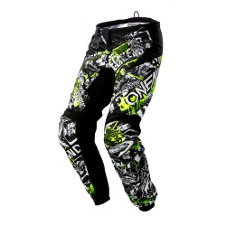 Element Attack Pants Black/Yellow
