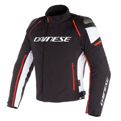 Racing 3 D-Dry Jacket Black White Red