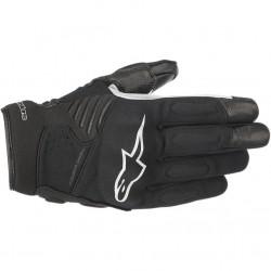 Faster Glove Black White