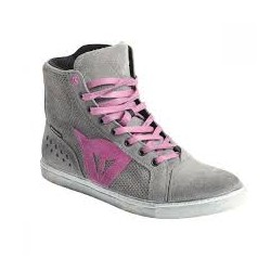 Street Biker Air Shoes Lady Gray/Orchid