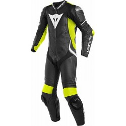 Laguna Seca 4 Suit 1pcs Black Fluo Yellow White