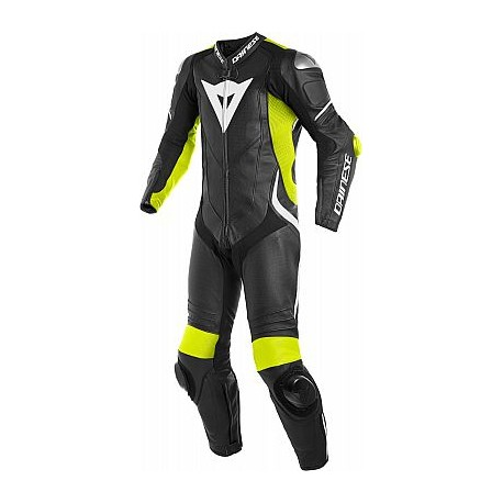 Laguna Seca 4 Suit 1pcs Black Fluo Yellow White