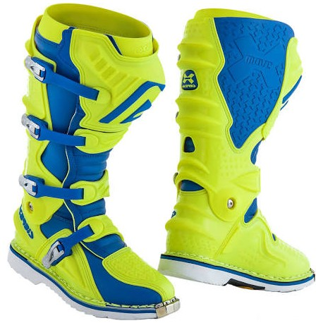X-Move 2.0 Boots Yellow Blue