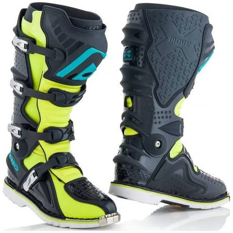 X-Move 2.0 Boots Gray Yellow