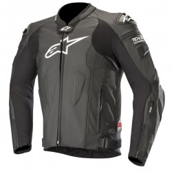 Missile Leather Jacket Tech Air Black