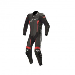 Missile Leather Suit Tech-Air Black Red