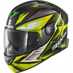 Skwall 2 Draghal Black Green Yellow